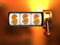 Which jackpots are played in an online casino?