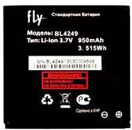 аккумулятор Fly E157 (BL4249) 950mAh Li-ion оригинал, акб fly bl4249