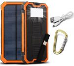 Power Bank Solar Charger - 10000mAh Li-Polymer