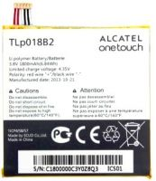 аккумулятор Alcatel OT 6030D (TLp018B2) 1800mAh Li-polymer оригинал, акб alcatel tlp018b2