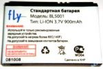 Fly E115 (BL5001) 900mAh Li-Ion, оригинал